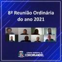 8ª Reunião Ordinária