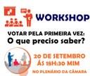 CÂMARA MUNICIPAL DE COROMANDEL REALIZA WORKSHOP