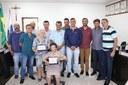 CÂMARA MUNICIPAL REALIZOU 27ª SESSÃO ORDINÁRIA E ENTREGA DE HONRA AO MÉRITO