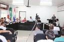 CÂMARA REALIZA 32ª SESSÃO ORDINÁRIA E RECEBE PROPRIETÁRIOS DE LOTES DO SETOR INDUSTRIAL.