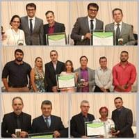 """Comenda do Mérito na Saúde """"Dr Sebastião Machado"""" homenageia pessoas de destaque na área, em Coromandel."""