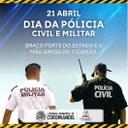 Dia da Polícia Militar e Polícia Civil
