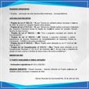 PAUTA DA REUNIÃO DIA 02/08
