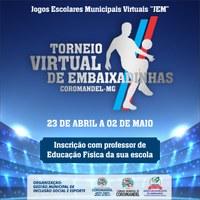 TORNEIO VIRTUAL DE EMBAIXADINHAS