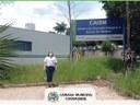 Vereadora Karina Oliveira, visitou o Caism